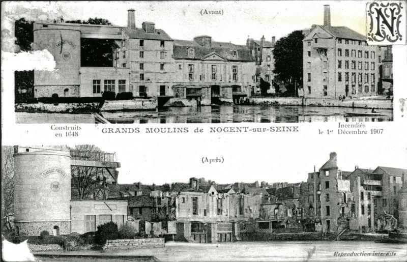Le moulin de sassot nogent sur seine for Architecte aube